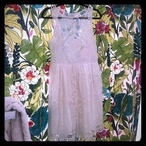 Pineapple Anthropologie Dress